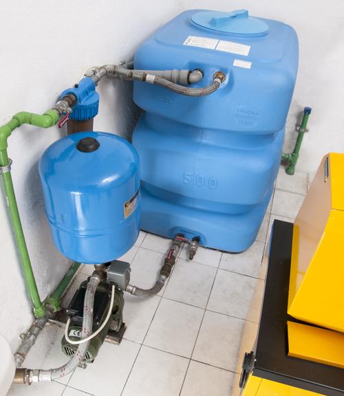 accumulatore acqua